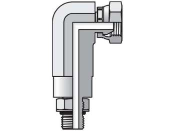 5507-6-6 Pipe Swivel 90° Elbow 5507