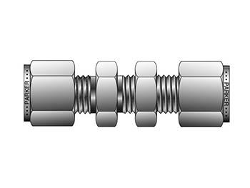 2BC2-B A-LOK Inch Tube Bulkhead Union - BC