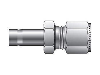 8TUCM10-316 A-LOK Inch Tube Tube End Converter - TUCM