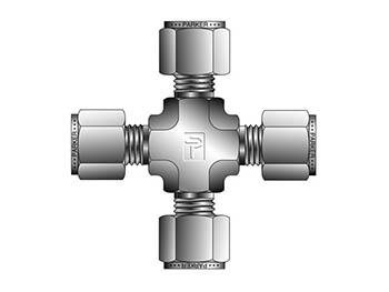 16ECR16-B A-LOK Inch Tube Union Cross - ECR