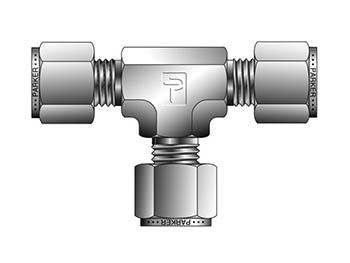 14ET14-316 A-LOK Inch Tube Union Tee - ET