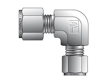 10-8 ELZ-B A-LOK Inch Tube Reducing Union Elbow - ELZ