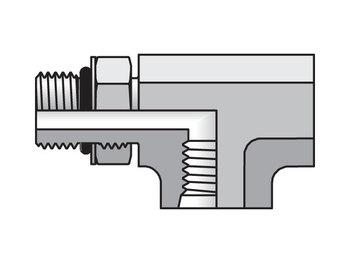 8 AG5JG5-S Pipe & Port 90° Elbow AOG5JG5