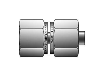 16-16 X6HBZ6-S CPI 37° Tube 37° Flare (AN) to CPI™/A-LOK® - X6HBZ