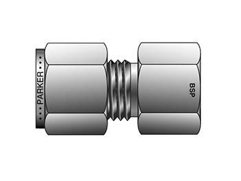 8-8K GBZ-B CPI Inch Tube BSPT Female Connector - GBZ