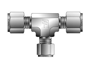 16-16-12 JBZ-SS CPI Inch Tube Reducing Union Tee - JBZ