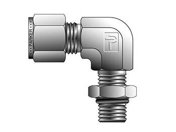 16-16 C5BZ-B CPI Inch Tube Male SAE Straight Thread Elbow - C5BZ