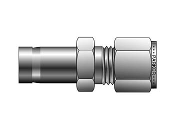 2-4 TRBZ-SS CPI Inch Tube Tube End Reducer - TRBZ