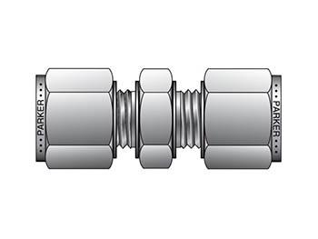 HBZ 18-18-S CPI Metric Tube Union - HBZ