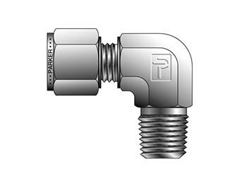 CBZ 3-1/4-B CPI Metric Tube NPT Male Elbow - CBZ