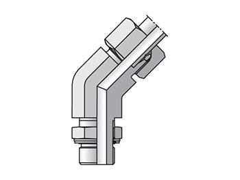 VEE12SMCF EO/EO-2 45° Elbow, Adjustable - VEE-M