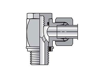 WH08SRKDSCF EO/EO-2 90° Elbow, High Pressure Banjo - WH-R-KDS