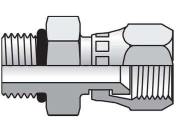 12 F65OX-S Triple-Lok 37° Straight Swivel F65OX