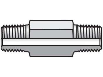 1/8 X 2.0 FFF-SS Pipe & Port Nipple FFF