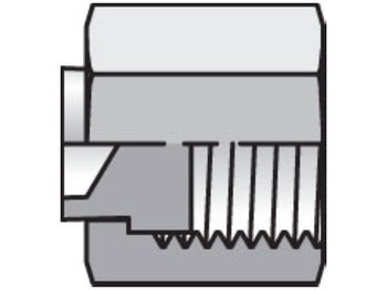10 FNL-SS Seal-Lok ORFS Plug and Cap FNL