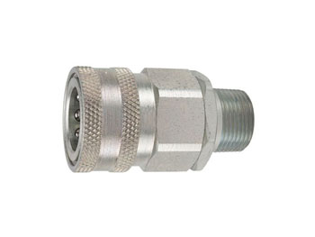 VHC4-4EM H Series Couplers - Male Thread