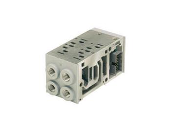 PS551163PP Isys ISO HA Series Bottom/End Ported Base Manifold/Subbase - NPT