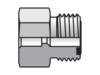 8 LHB3-S Seal-Lok ORFS Straight LOHB3