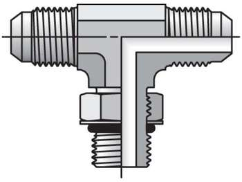 8-8-10 S5OX-S Triple-Lok 37° Tee S5OX