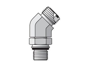 4M14V87OMLOS Seal-Lok ORFS 45° Elbow V87OMLO