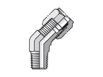 5 VBU-S Ferulok 45° Elbow VBU