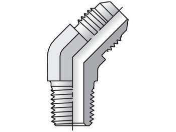 8-8 VTX-B Triple-Lok 37° 45° Elbow VTX