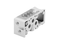 Isys ISO H1 Series Bottom/End Ported Base Manifold/Subbase - BSPP