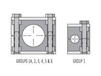 Inch Standard Series Tube Clamp Halves
