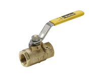 Brass Ball Valve - Panel Mount - V502P