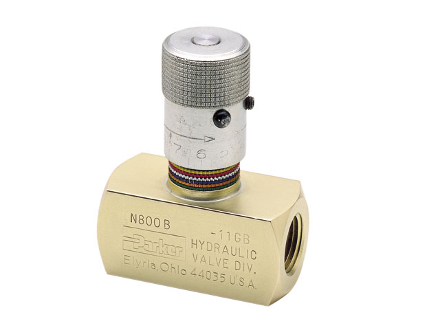 N600BT Colorflow Needle Valve - NPT