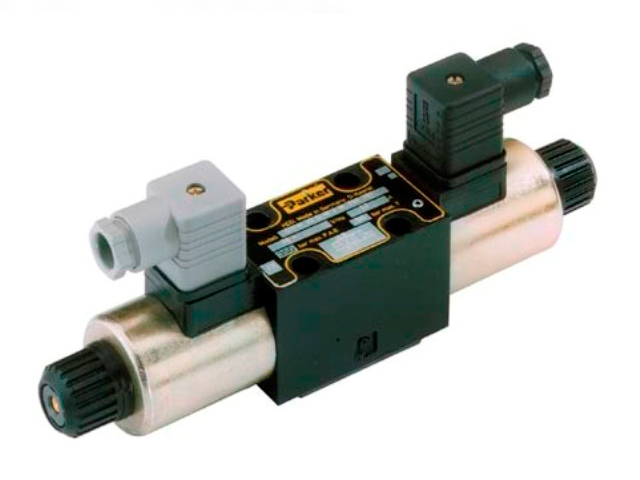 D1VW001CNYC D1VW Series - Double solenoid, 3 position, spring centered