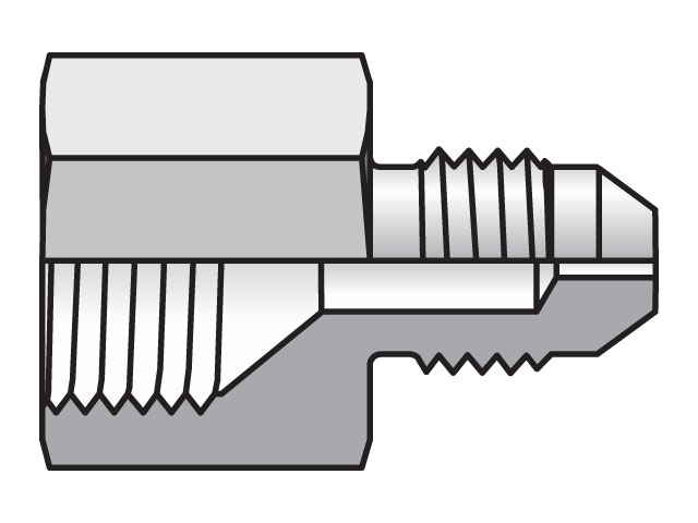 6 XHX7-S .094 ORIFICE Specialty Orifice Fitting XHX7