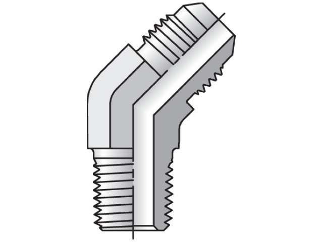 10 VTX-B Triple-Lok 37° 45° Elbow VTX