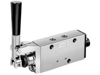 42 Series Manual/Mechanical Valve - 4-way 3-position