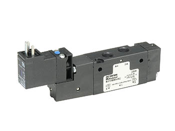 B511BB553C B Series Single Solenoid 4-way 2-position Valve