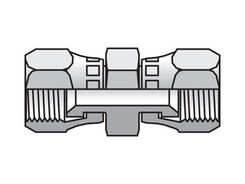 10 HX6-S Triple-Lok 37° Straight Swivel HX6