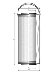 Lube Stop Near Me >> 933612Q - ParFit™ Interchange and Parker Replacement Element | PartsGopher